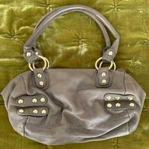 Linea Pelle Round Satchel Bag